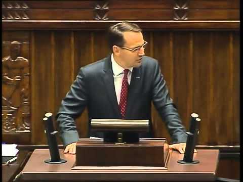 Radosław Sikorski - wystąpienie z 24 września 2014 r.