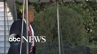 Trump offers vague threat against North Korea