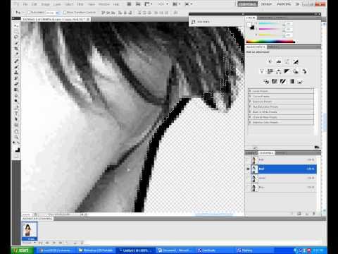 Cách tạo hiệu ứng 3D trong photoshop - Video made by Lucy