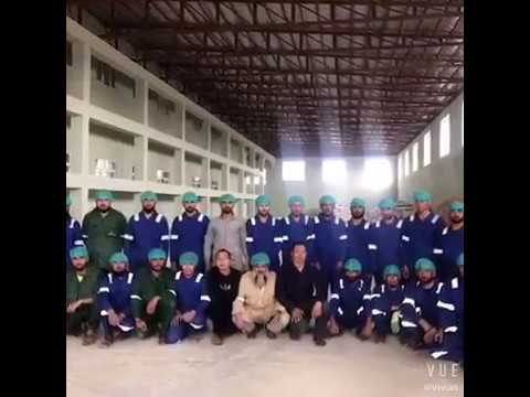 China Hongdefa 300t wheat flour mill machine project in Afghanistan