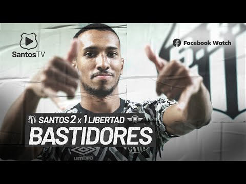 SANTOS 2 X 1 LIBERTAD | BASTIDORES | CONMEBOL SUL-AMERICANA (12/08/21)
