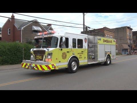 2018 Glassport,PA Fire Department Firemen's Fair Parade 7/21/18