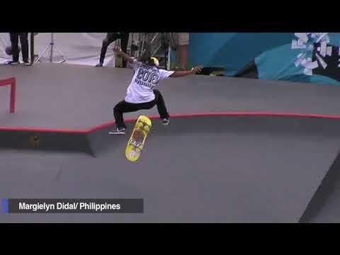 Didal rules Asian Games skateboarding for PH's 4th gold medal