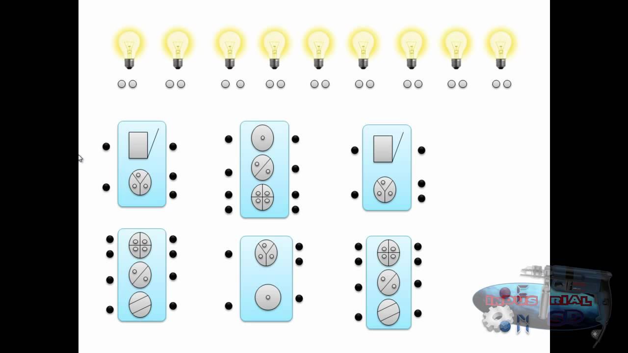 cursos de electricidad residencial parte 1 (apagadores sencillos ...