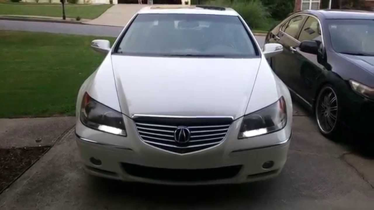 Acura RL Switchback LED DRL YouTube - 2005 acura rl front grill