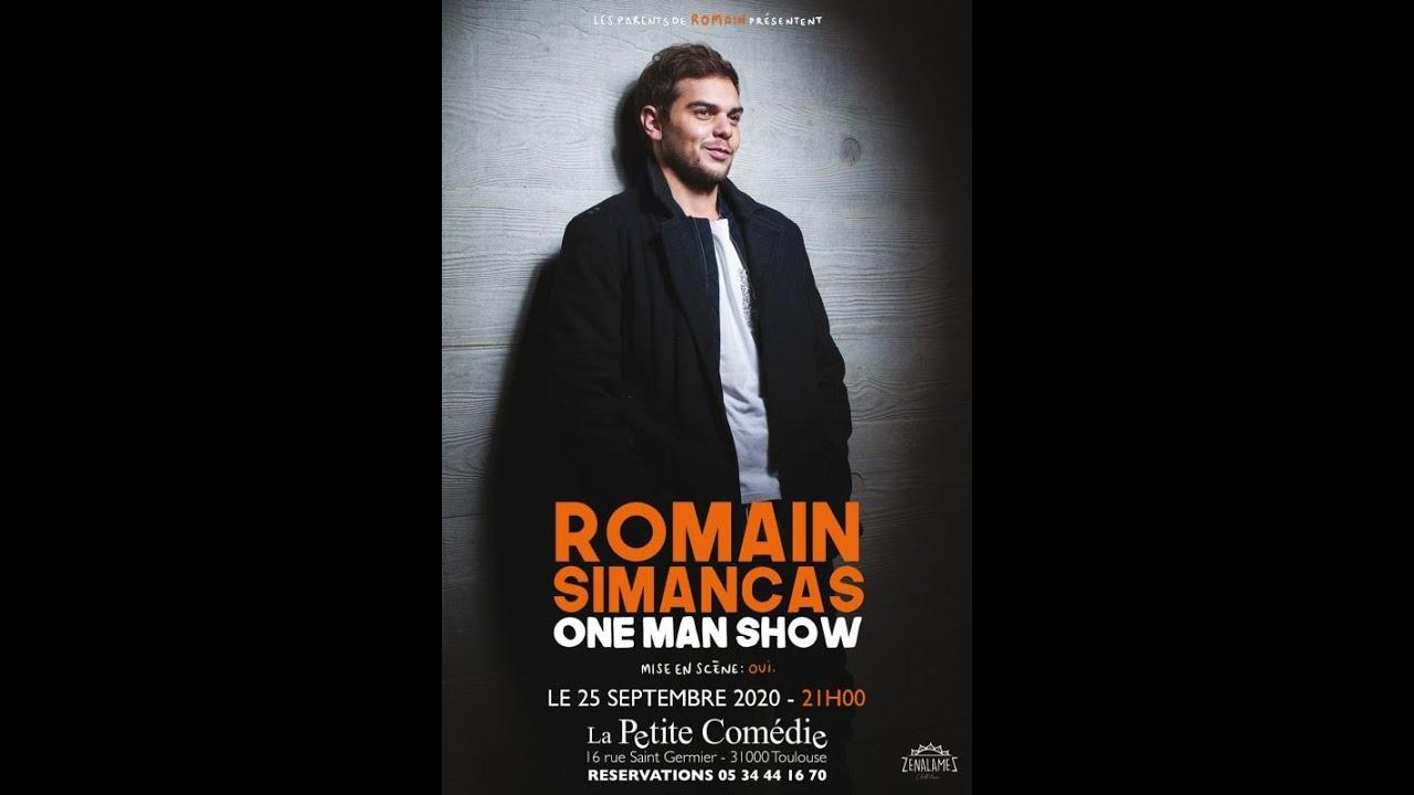 Romain Simancas, humoriste Toulousain