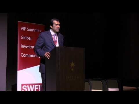 Keynote Speaker Ahmad Al-Sayed, Institute Fund Summit Asia 2017