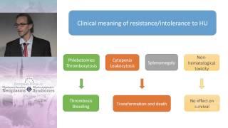 Hydroxyurea Intolerance/Resistance in Polycythemia vera