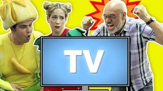 فوزي موزي وتوتي – تلفزيون ملوّن – Colorful television