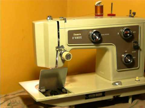 NIFTYTHRIFTYGIRL Nice Vintage Model 40 Kenmore Sewing Machine Awesome Kenmore Sewing Machine Vintage