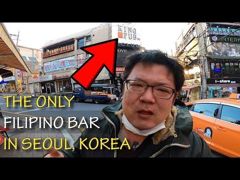 Finally I found an authentic Filipino pulutan bar in Seoul Korea – Itaewon King Pub