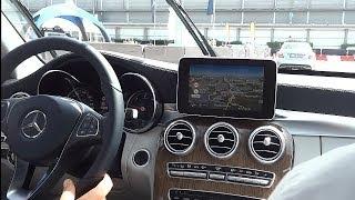 Mercedes C-Klasse Assistenzsysteme im Test [deutsch]