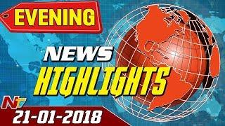 Gambar cover Evening News Highlights || 21st January 2018 || NTV