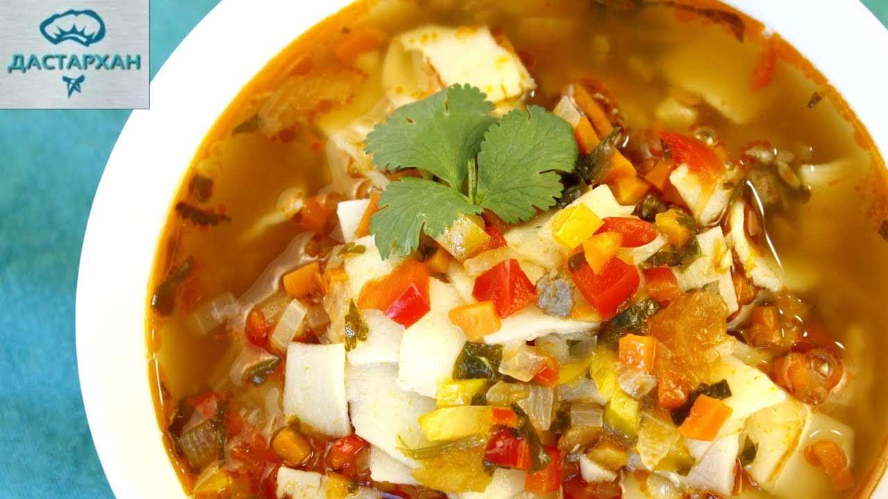 как приготовить суп с манпар