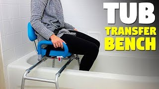 Tub Transfer Bench | Swivel Bath Seat For Elderly