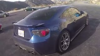 Supercharged Subaru BRZ: (Angeles Crest) One Take