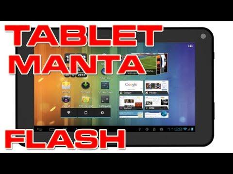 MANTA Mid013 Tablet Flash Firmware Update