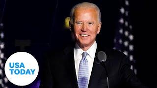 Joe biden delivers address upon winning ...