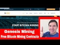 How to buy Free Genesis Mining contracts and Earn Bitcoin Passively