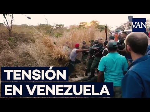 Tensión en los puestos de control de Venezuela hacia Colombia