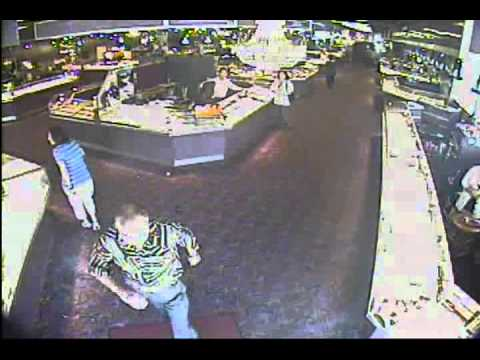 Jewelry Mart robbery surveillance video