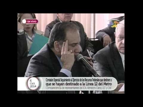 Comparecencia de representantes de ICA-ALMSTON-CARSO, ILF y CAF - Ronda 1: Ricardo Mejía