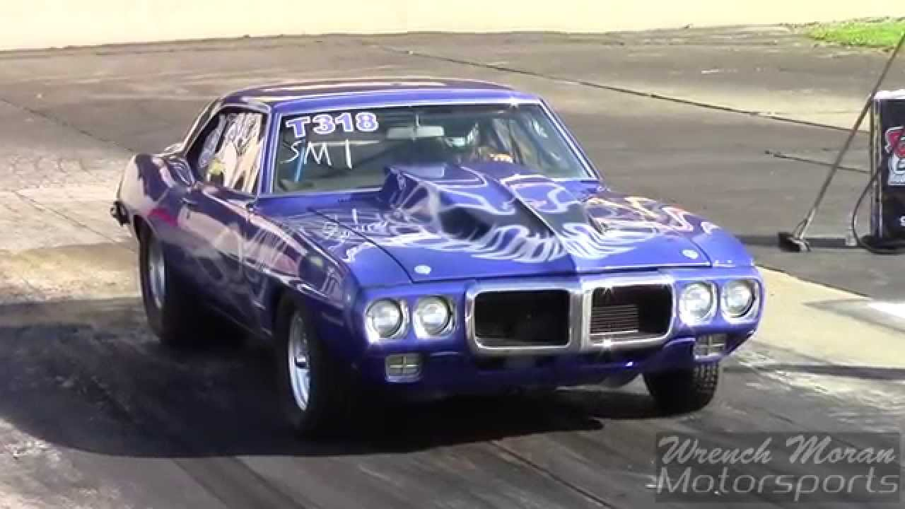 1969 Pontiac Firebird 555ci V8 │ Goodguys Drag Racing - YouTube