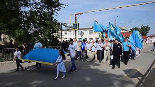 Октябрьское, Крым, 18 мая 2018 года, колонна