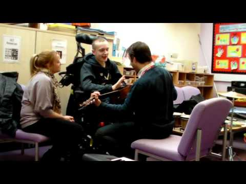 Ben in Music Therapy