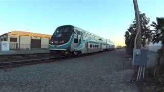 MP36PH-3C Leads Metrolink with Nice Horn