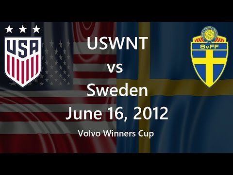 USWNT vs Sweden June 16, 2012