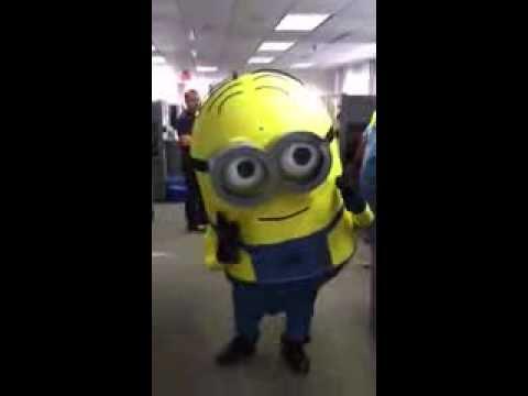Minion Dave - 2013 Halloween Costume & Minion Dave - 2013 Halloween Costume - YouTube