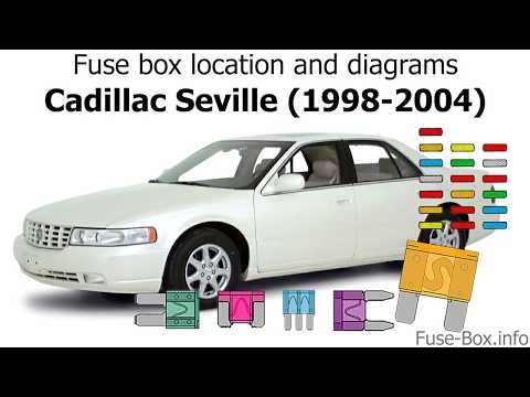 [WQZT_9871]  Fuse box location and diagrams: Cadillac Seville (1998-2004) - YouTube | 2004 Seville Fuse Box |  | YouTube