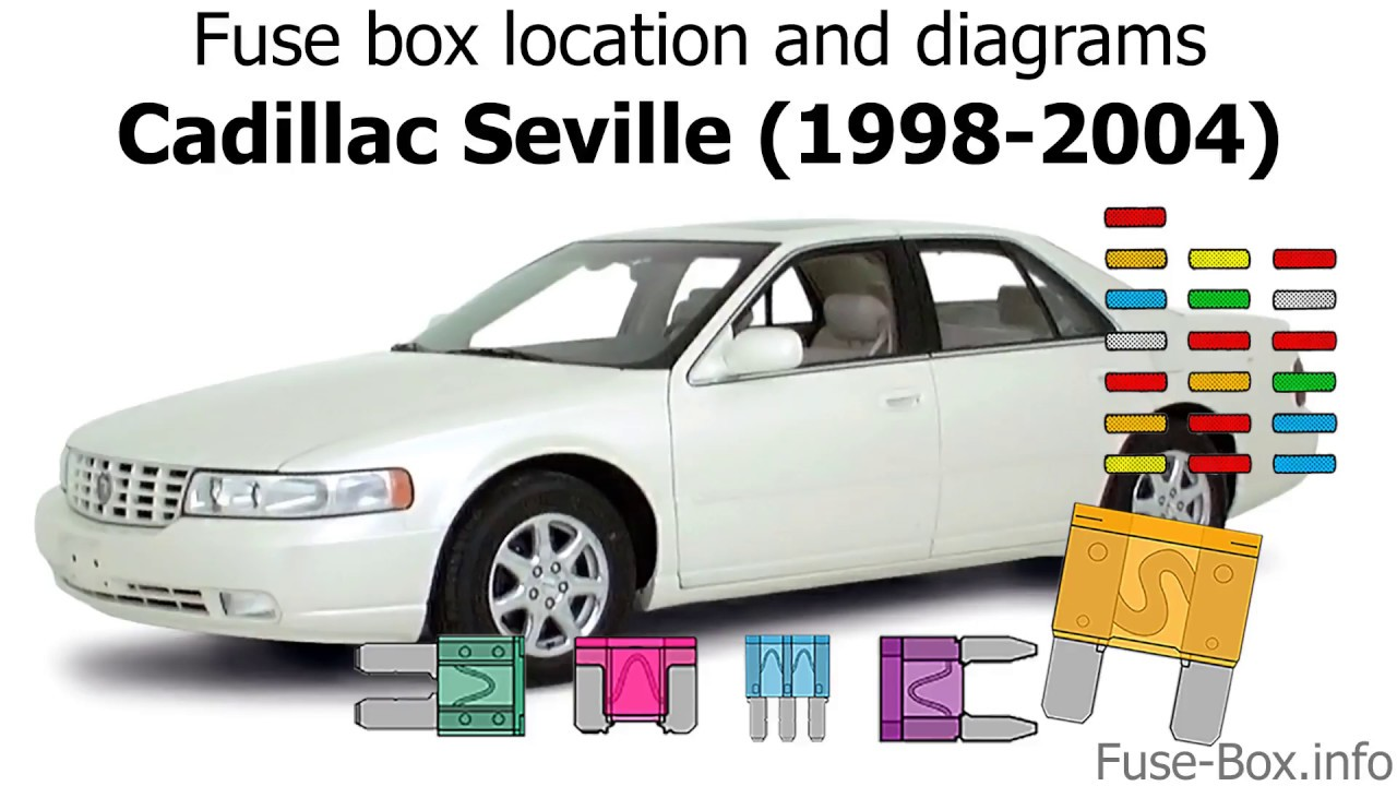 medium resolution of fuse box location and diagrams cadillac seville 1998 2004