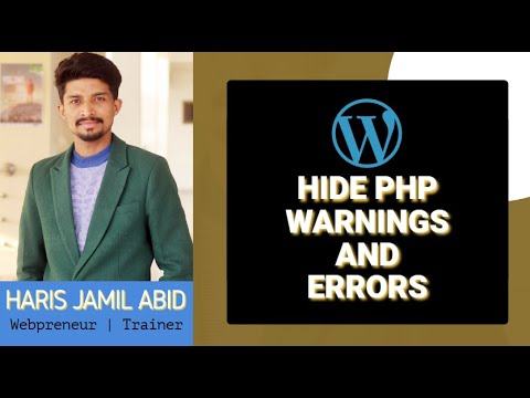 How To Hide PHP Warnings And Errors In WordPress
