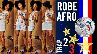 🇫🇷 ⚽ DIY ROBE AFRO TRAP P.9 FOOT 🇫🇷  FRANCE BLACK BLANC BEUR feat JPG + MHD ⚽