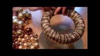 DIY -  Adventskranz selber basteln / easy advent wreath