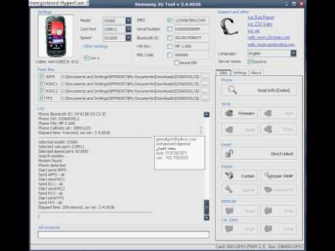 flash and unlock s5560 on Z3X by GmmaLGSM(0191061071).avi