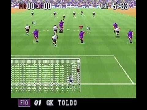Super Formation Soccer 95 - della Serie A (GAME SAMPLE - SNES - 日本語版)