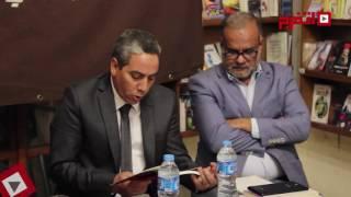 اتفرج| حفل توقيع «شيطان صغير عابر» لمحسن عبد العزيز