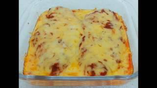 Куриное филе с сыром и томатным соусом