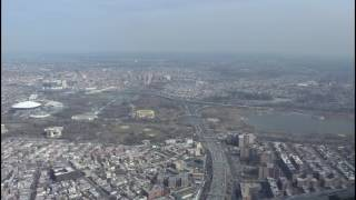 Landing at La Guardia Airport - Expressway Visual Approach Runway 31 - Airbus A320