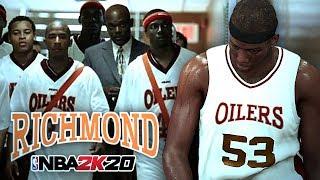 "ГЕРОИ ФИЛЬМА ""ТРЕНЕР КАРТЕР"" В NBA 2K20! ● RICHMOND OILERS #1 MyLEAGUE"