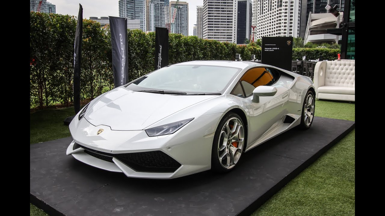 Hurricane Lamborghini >> Lamborghini Huracan LP610-4 launch in Malaysia - AutoBuzz.my - YouTube