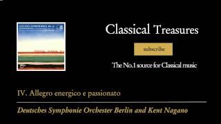 Johannes Brahms - IV. Allegro energico e passionato