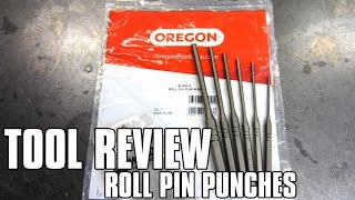 TOOL REVIEW - Roll Pin Punch Set By WILDE (Oregon #42-450-0)