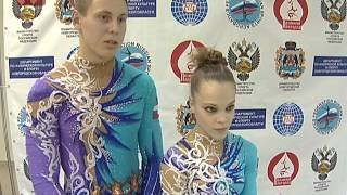 В Великом Новгороде завершились международные соревнования по спортивной акробатике