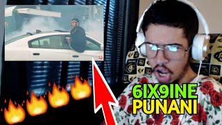 6IX9INE - PUNANI (OFFICIAL MUSIC VIDEO) (Reaction)
