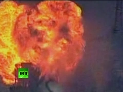 Chemical blast video: Twin explosion hits Japan plant