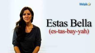How Say Youre Beautiful Spanish